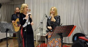Lorenza Licenziati presenta Shara durante la serata Instagusto per Le Eccellenze dei Sensi