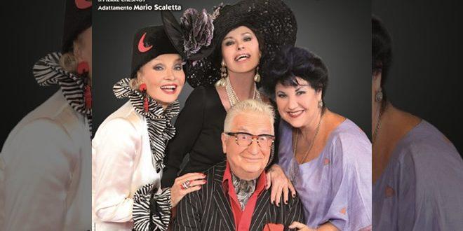 Quattro donne e una canaglia in scena
