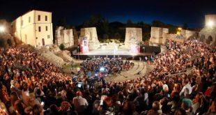 Teatro Romano scenario del Benevento Cinema Televisione