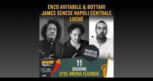 Avitabile, Senese e Luche al Noisy Naples Fest 2018