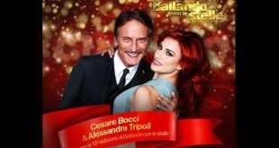 Ballando con le stelle, vince la coppia Cesare Bocci e Alessandra Tripoli. Foto da Facebook.