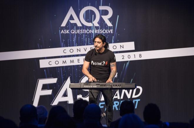 Carmine Faraco, ospite della convention AQR