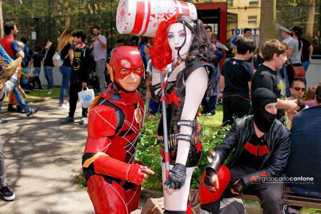 Cosplayer al Comicon 2018. Foto di Giancarlo Cantone.