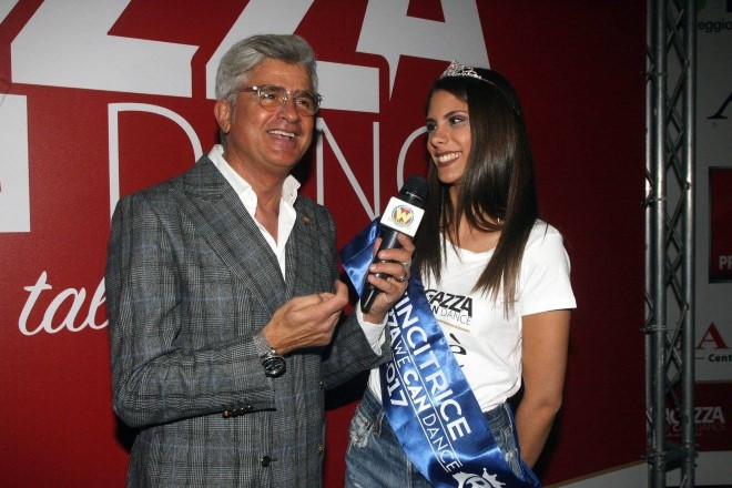 Dino Piacenti ed Erika Vanacore, vincitrice di Ragazza We Can Dance 2017.