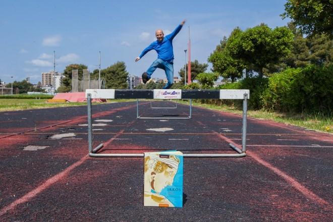 Ikkos, l'atleta di Taranto è il romanzo storico scritto da Lorenzo Laporta. Foto da Facebook