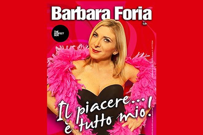Il piacere è tutto mio, con Barbara Foria