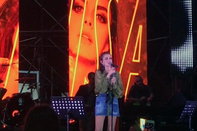 Annalisa Live al Napoli Pizza Village 2018