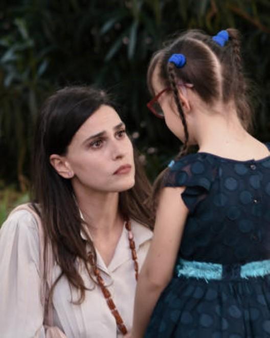 Daniela Marra e Miriam Fauci sul set. Foto di Sonia Colavita.
