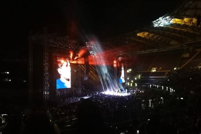 Fabrizio Moro allo Stadio Olimpico di Roma
