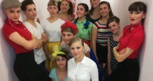 Giovani attori di Luglio in Musical. Foto fornita da Ufficio Stampa.