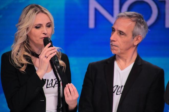 Jalisse in TV. Foto da Ufficio Stampa.