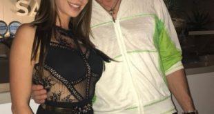 Malena con Ron Moss. Foto da Ufficio Stampa.
