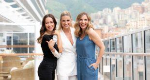 Michelle Hunziker, Lorella Cuccarini and Aurora Ramazzotti. Foto di Ivan Sarfatti
