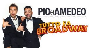 Pio e Amedeo in Tutto fa Broadway