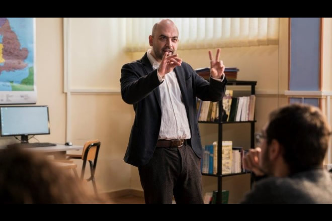 Roberto Saviano in cattedra per Il Supplente