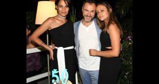 Shalana Santana, Massimiliano Gallo e la figlia Giulia