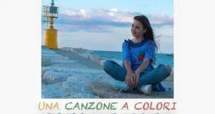 Stella Giorgi, la copertina del suo primo singolo Una canzone a colori