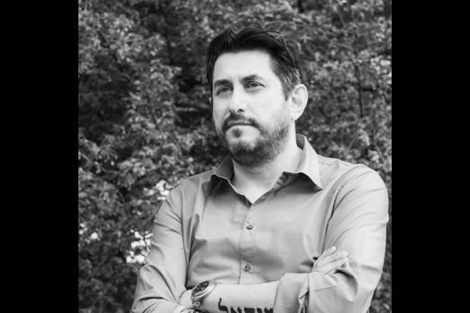 Alberto Bambini, il regista di Lucinda. Foto dal Web