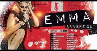 Emma Marrone, date di Essere Qui Tour 2019