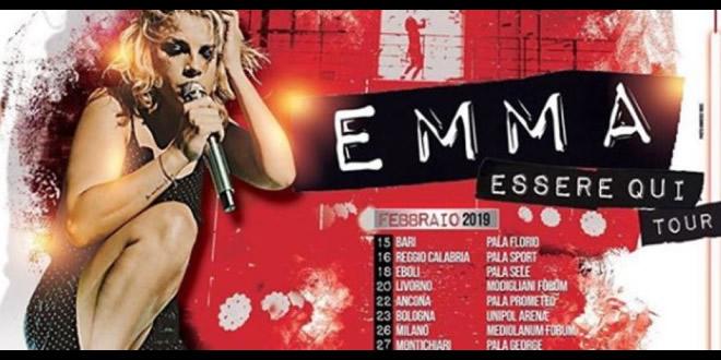 Emma annuncia nuove date del tour 2019