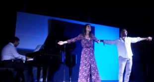 Francesco Castiglione e Valeria Zazzaretta in Libertà tra musica e parole in Calabria