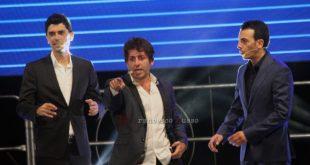 Gigi e Ross con Francesco Cicchella al Premio Nettuno 2018.