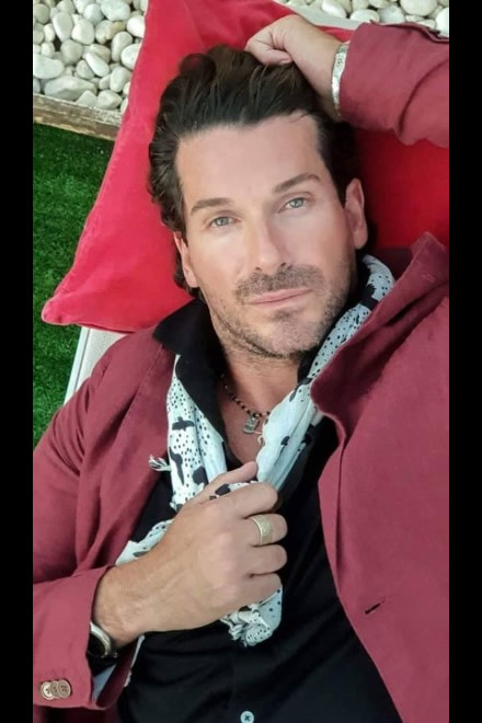 Jack Queralt. Foto concessa dall'attore
