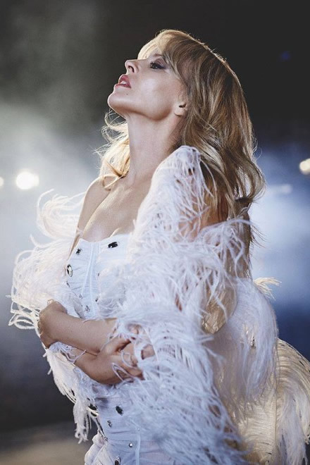 Kylie Minogue. Foto da Ufficio Stampa.