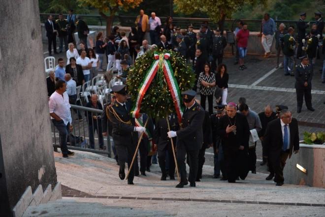 La GdF omaggia i Caduti di Ciorlano. Foto di Federico D'Alessandri