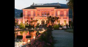 La villa Rothschild in Costa Azzurra. Foto da Ufficio Stampa.
