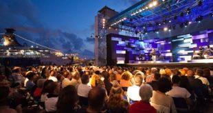 L'arena del Mare che ospita la finale del Gran Gala del Premio Charlot 2018. Foto da Ufficio Stampa.