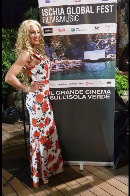 Marianna Fortuna ad Ischia Global Film e Music Festival