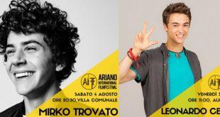 Mirko Trovato e Leonardo Cecchi ad Ariano International Film Festival 2018