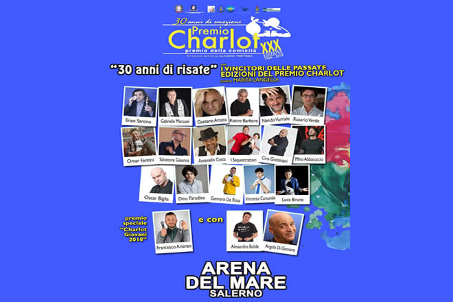 Premio Charlot 2018 - Cabaret