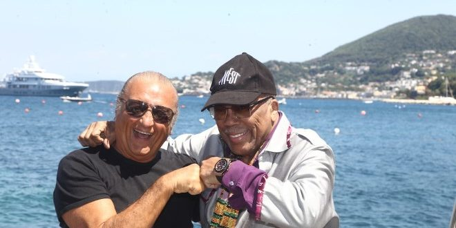 Quincy Jones si racconta a Ischia Global