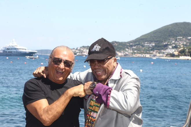 Quincy Jones e Tony Renis ad Ischia Global Film & Music Festival