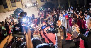 Red Carpet del Social World Film Festival. Foto da Ufficio Stampa
