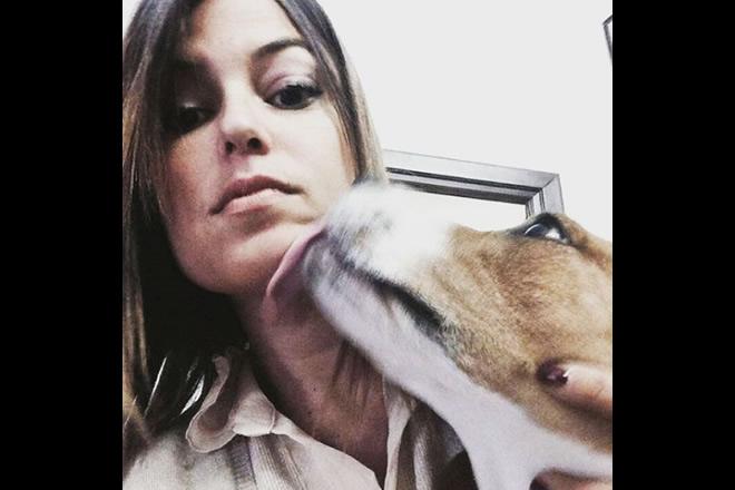 Sara Tommasi. Foto da Instagram