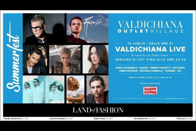 Valdichiana Outlet Village Summerfest 2018