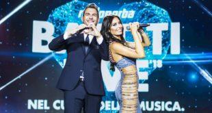 Alan Palmieri ed Elisabetta Gregoraci conducono Battiti Live 2018. Foto da Ufficio Stampa.
