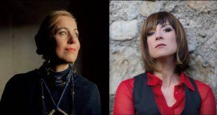 Cristina Donà e Ginevra di Marco per Note di Settembre a Comacchio. Foto da Ufficio Stampa.