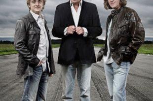 I conduttori di Top Gear. Foto di Todd Anthony - Copyright BBC 2008