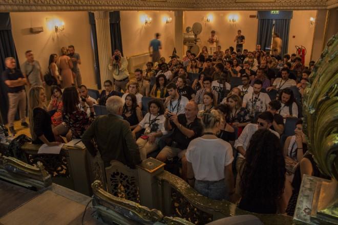 La presentazione di CinemadaMare. Foto da Ufficio Stampa