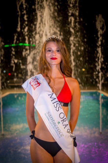 Martina Tradati - Miss Ora 2018. Foto da Ufficio Stampa.