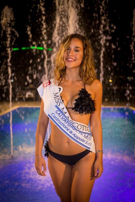Chiara Chiarini - Miss Mascotte 2018. Foto da Ufficio Stampa.
