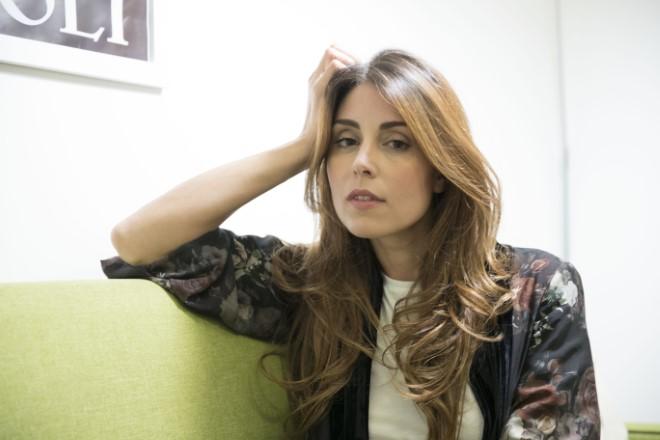 Miriam Candurro. Foto di Alfredo De Lise.