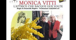 Monica Vitti - L'attrice che nacque due volte al International Tour Film Festival 2018