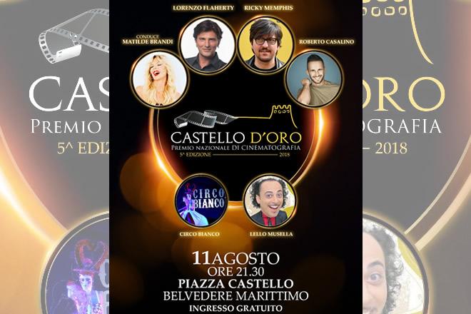 Premio Castello d'Oro 2018