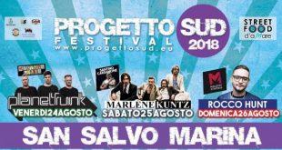 Progetto Sud Festival 2018