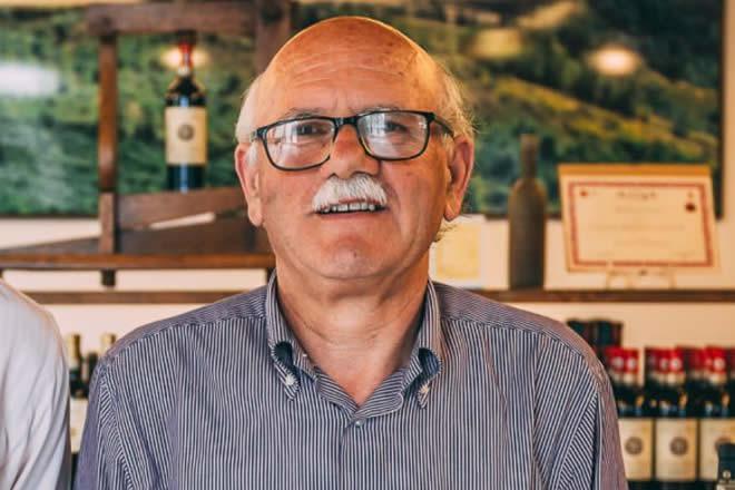 Ritano Baragli, presidente della Cantina Sociale Colli Fiorentini per Sangiovese